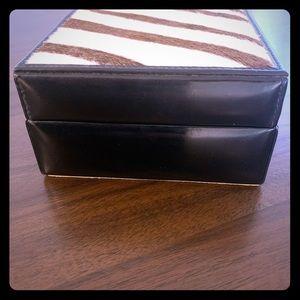 Rare Gucci Leather Trinket Box